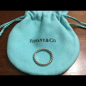 Tiffany and Co sterling silver ring
